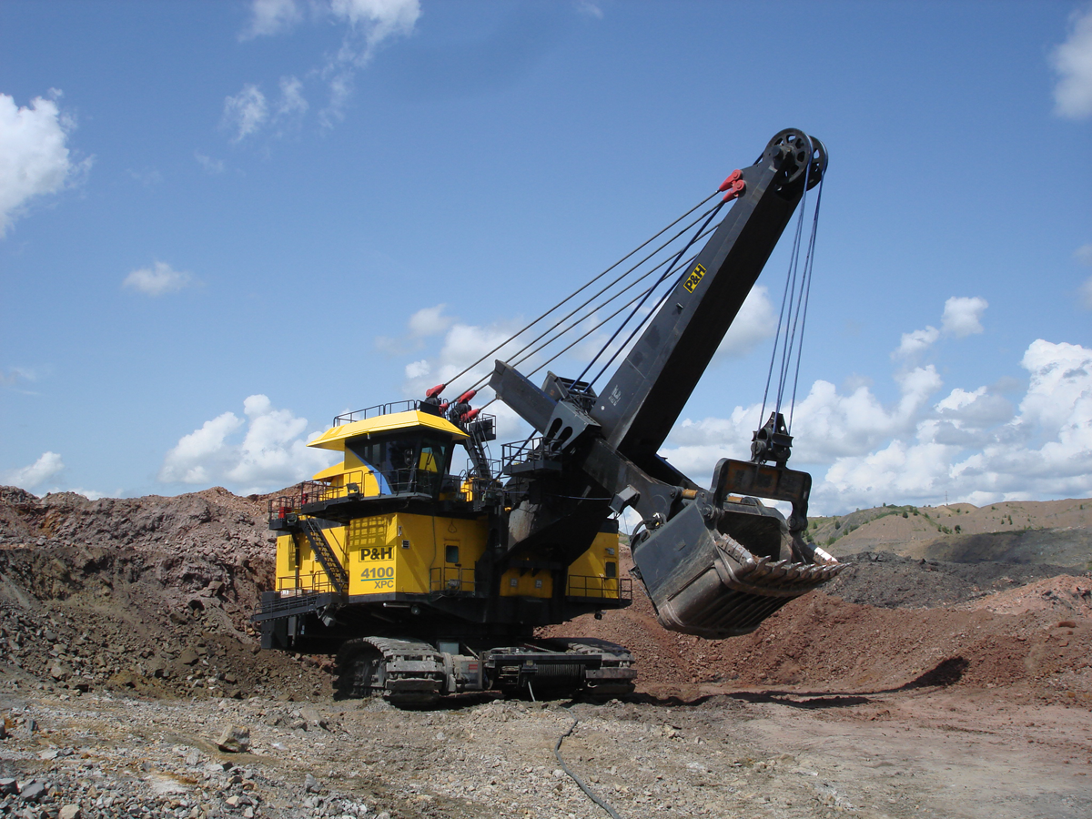 electric shovel database product