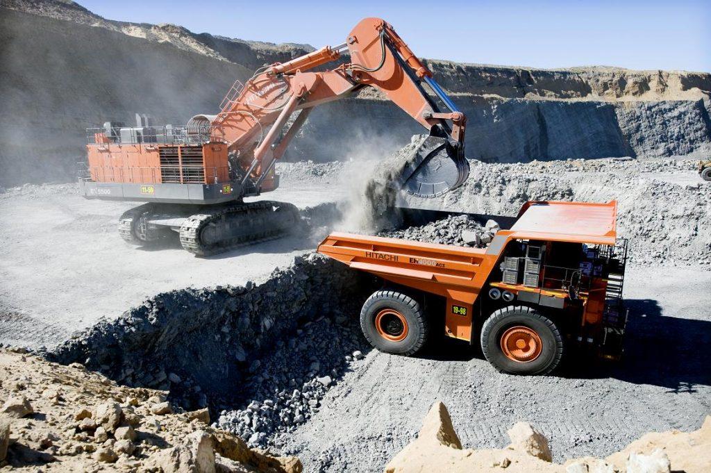 Hydrolic Excavator - Database product