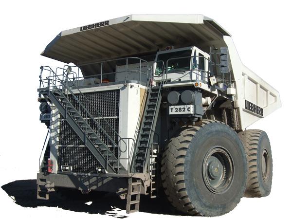 Mining Equipment database, trucks, power shovels, draglines and more