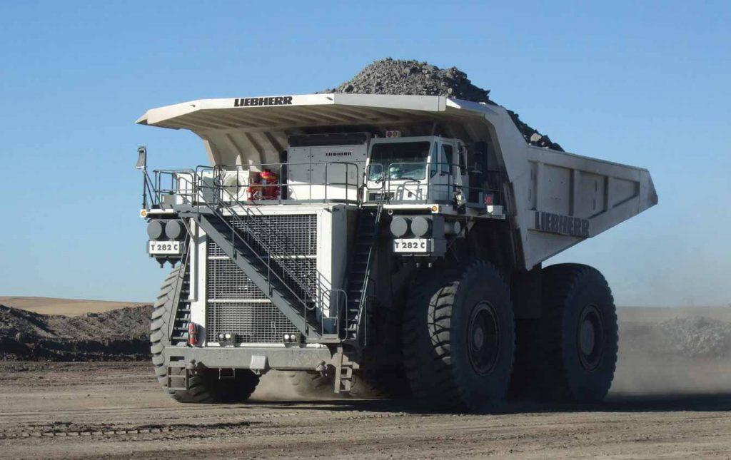 surface mining trucks